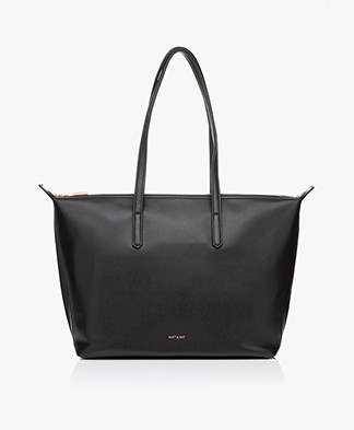 Matt & Nat Abbi Loom Shopper Tote - Zwart