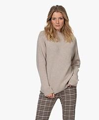 Filippa K Juliana Wool-Cashmere Sweater - Beige Melange