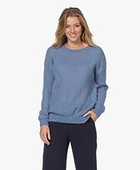 Belluna Caramel Mohair Mix Sweater - Purple