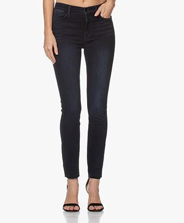FRAME Le High Raw Edge Skinny Jeans - Seaway