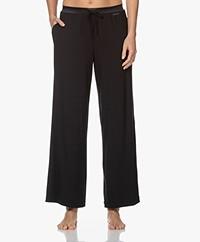 Calvin Klein Modal Jersey Sleep Pants - Black