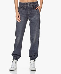 Rag & Bone Miramar Jeansprint Sweatpants - Merest Donkerblauw