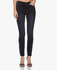 FRAME Le High Raw Edge Skinny Jeans - Seaway
