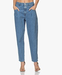 Closed Pearl Bio-Katoenen Mom Jeans - Middenblauw