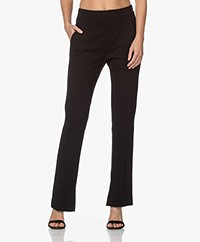 by-bar Lowie Interlock Jersey Broek - Zwart