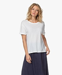 Drykorn Larima Cotton Jersey T-shirt - White