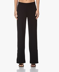 Woman by Earn Tammy Stretch Crepe Pants - Black