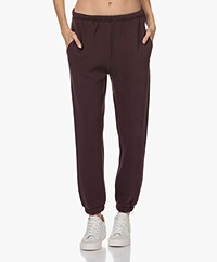 American Vintage Ikatown French Terry Sweatpants - Aubergine
