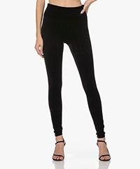 SPANX® Structured Velvet Leggings - Very Black