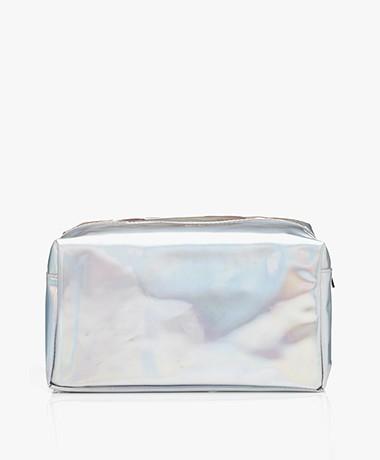 &Klevering Metallic Toiletry Bag - Cosmic