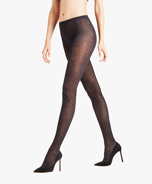 FALKE Sensual Cashmere 50 Den Tights - Black