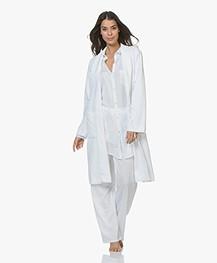 HANRO Robe Selection Fleece Pluche Badjas - Wit