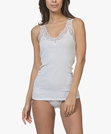 HANRO Lace Delight Top - Wit