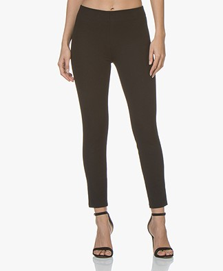 Joseph Nitro-Gabardine Stretch Leggings - Black
