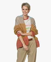 Mes Demoiselles Araucaria Knitted Cardigan - Multi-color