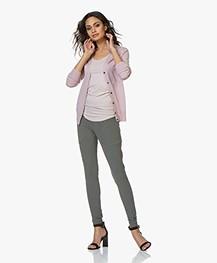 Filippa K Silk Mix V-Neck Vest - Frosty Pink