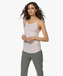Filippa K Soft Sport Cotton Strap Tank - Frosty Pink