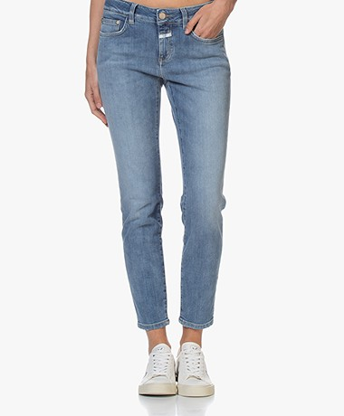 Closed Baker Mid-rise Slim-fit Jeans - Middenblauw