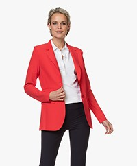 JapanTKY Yuu Tailored Blazer - Japanese Red