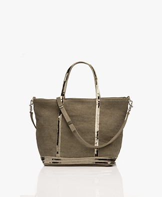 Vanessa Bruno Cabas Shoulder/Hand Bag - Khaki
