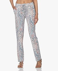 no man's land Jersey Pull-on Trousers - Sea Breeze