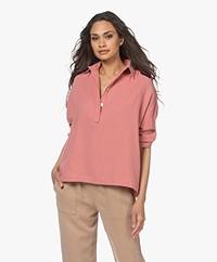 Shades Antwerp Nilan Muslin Shirt - Terra