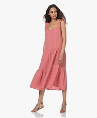 Rails Capri Cotton Muslin Midi Dress - Dark Pink