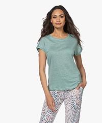 MKT Studio Tadour Linnen T-shirt - Mint