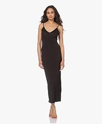 By Malene Birger Camina Viscose Slip Dress - Zwart