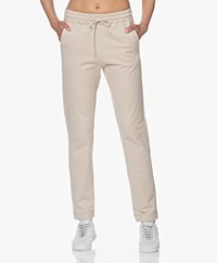 no man's land Cotton French Terry Sweatpants - Oak