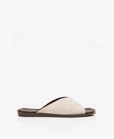 Filippa K Leona Cross Slippers - Light Taupe