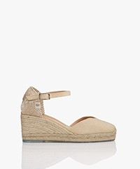 Castaner Chiarita Recycled Wedge Espadrilles - Natural