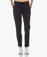 Woman by Earn Day Tech Jersey Pants - Navy