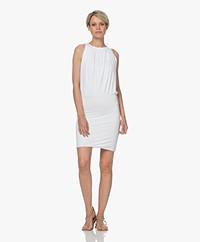 Majestic Filatures Superwashed Jersey Dress - White