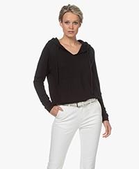 Majestic Filatures Hooded Sweatshirt - Black