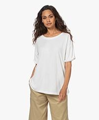 studio .ruig Tinder Pique Jersey T-shirt - Off White