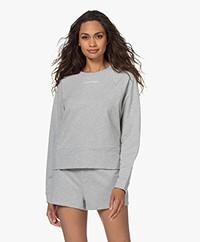 Calvin Klein Reconsidered Comfort Logo Sweater - Grey Heather