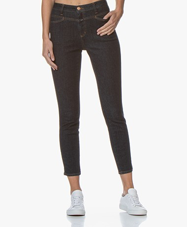 Closed Skinny Pusher Super Stretch Jeans - Donkerblauw