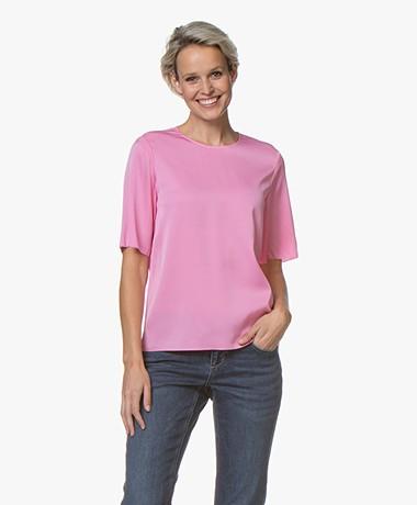 Filippa K Zijden T-shirt - Waterlily