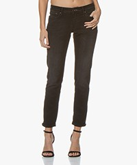 Denham Monroe Paris Girlfriend Fit Jeans - Zwart