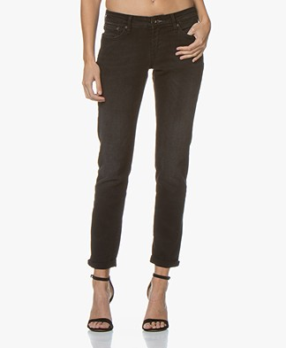 Denham Monroe Paris Girlfriend Fit Jeans - Black