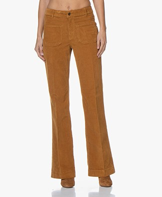 Vanessa Bruno Dompay Corduroy Pants - Cannelle