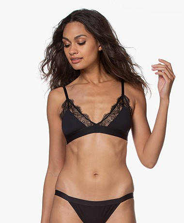 Love Stories Love Lace Bralette - Zwart