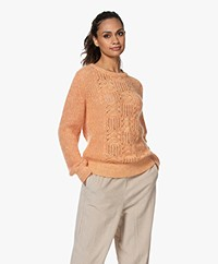 Kyra & Ko Isrid Cable Ajour Sweater - Koi