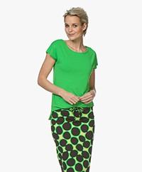 Kyra & Ko Dedina Viscose T-shirt - Green