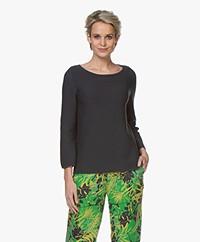 Kyra & Ko Sien Fine Knitted Pullover - Graphite