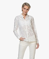 Josephine & Co Britney Embroidered Shirt - White