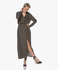 Marie Sixtine Megane Printed Maxi Shirt Dress - Prairie