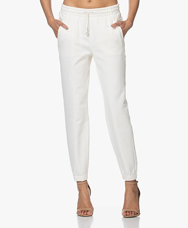Drykorn Once Puur Katoenen Sweatpants - Off-white