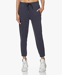 James Perse Fleece Pull On Sweatpants - Deep Navy